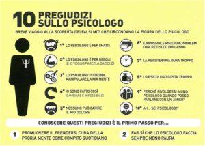 10 pregiudizi psicologo